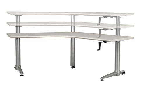 Adjustable Height Office table in Houston