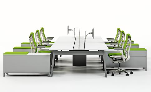 Houston Office Furniture Work Area