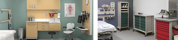 Medical exam room Furniture Houston small
