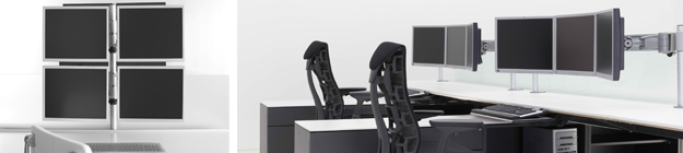 Office Furniture Monitor Arms houston small