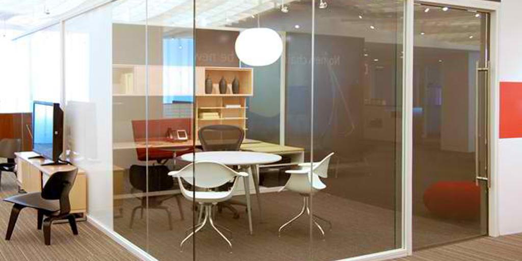 Houston office modular walls